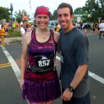 Our first photo/race :)
