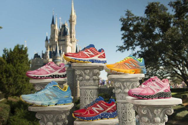 The 2014 New Balance sneakers. Photo credit: runDisney