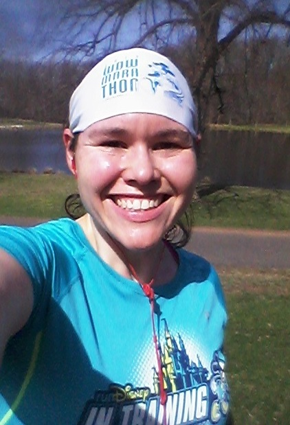 This week's longest run -- a 5-miler -- and already sweating like a pig, lol